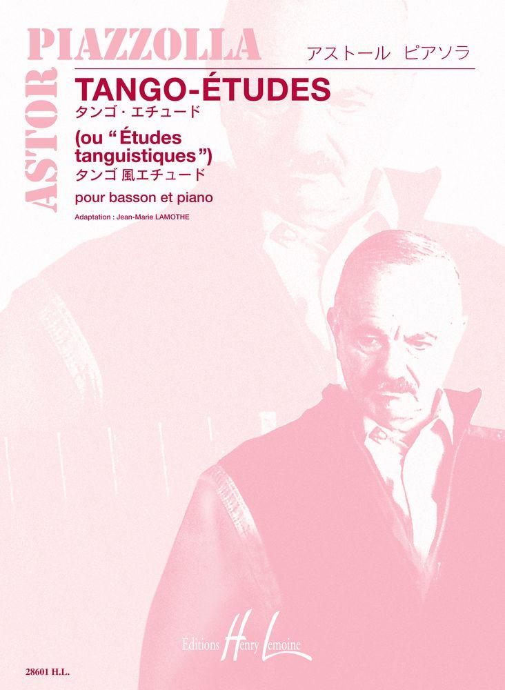 PIAZZOLLA Astor : 6 Tango - Etudes