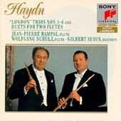 Haydn: London Trios 1-4, etc / Gilbert Audin