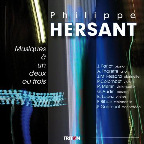 Philippe Hersant - Duos pour alto et basson - Gilbert Audin