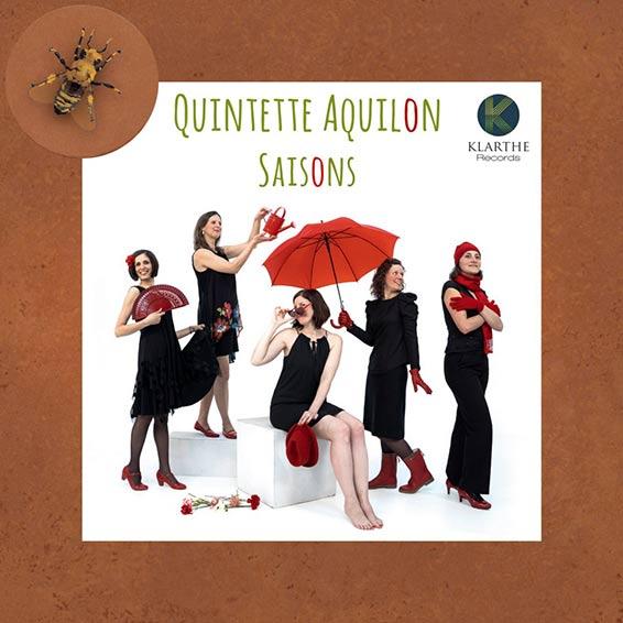 Sortie du CD Saisons du Quintette Aquilon