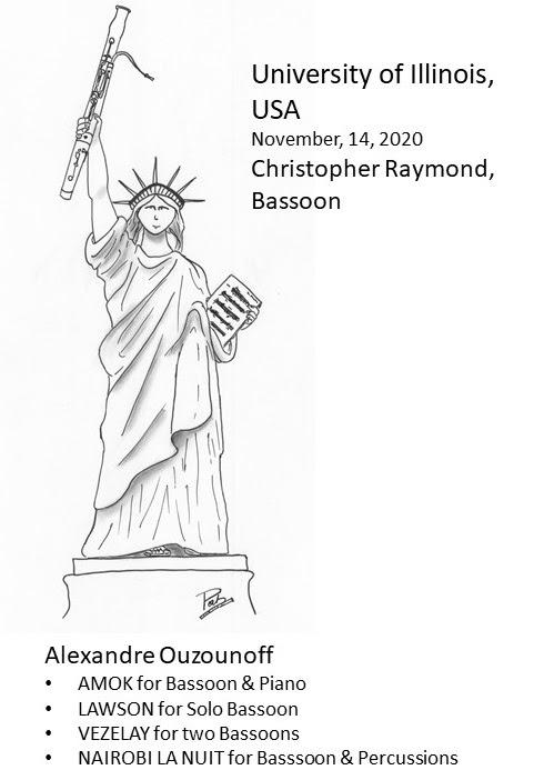 Concert en live sur YouTube de Christopher Raymond