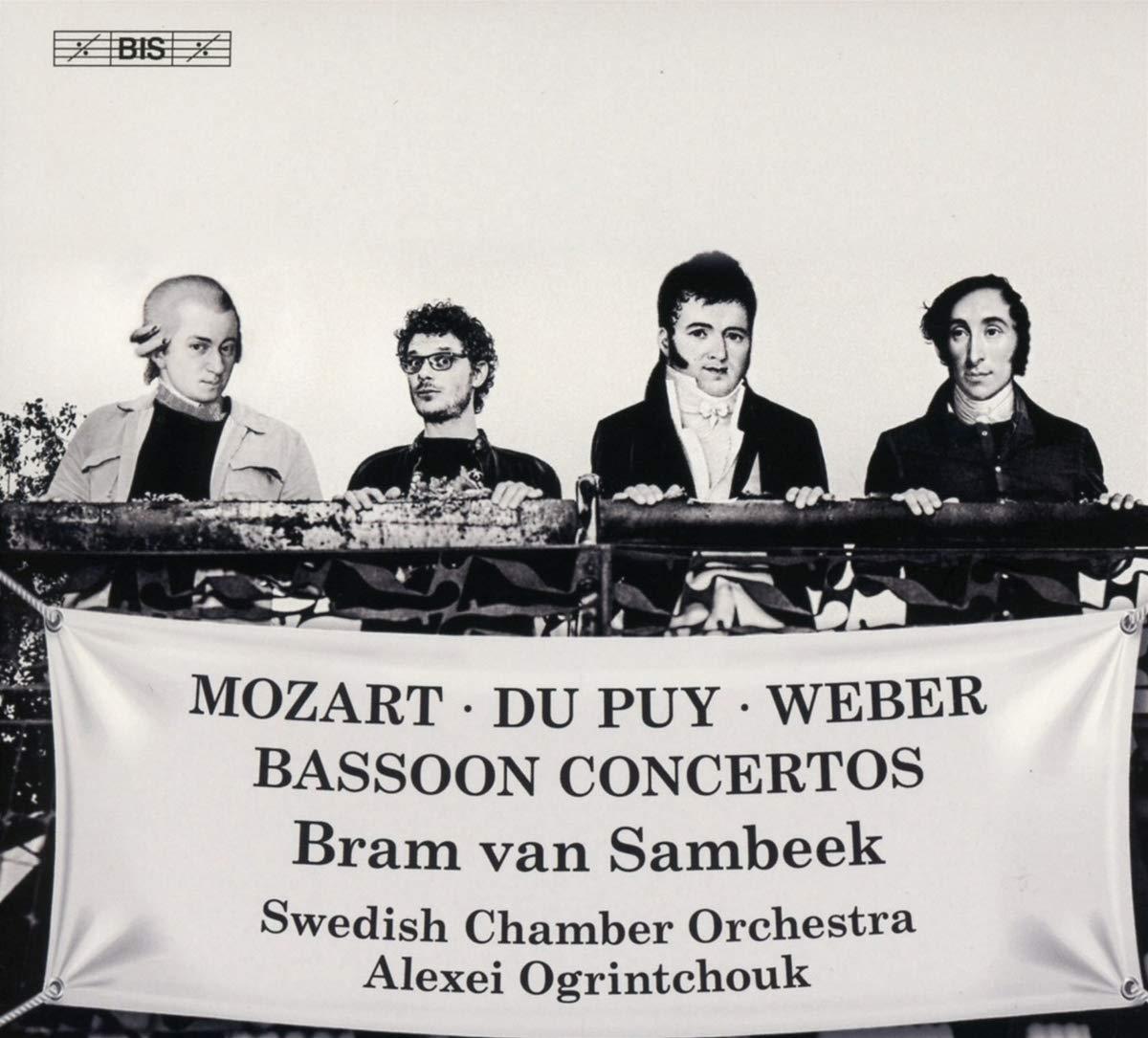Mozart, Weber et Dupuy avec Bram van Sambeek