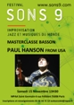 Master classe Paul Hanson improvisation jazz samedi 15 novembre 13h30